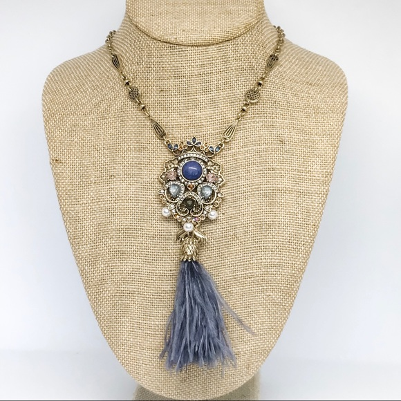 Chloe + Isabel Jewelry - Royal Thistle Long Pendant Necklace